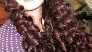 New No heat curly-wavy hair tutorial- No products, no curlers, no french braiding