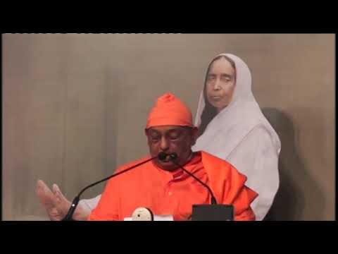 Speech by swami divyananda on holy mother 2016