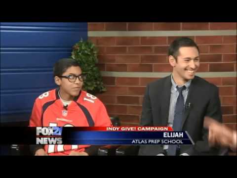 Give! 2013 Atlas Preparatory School - FOX21 Interview
