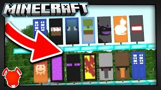 CHECK OUT these 13 CRAFTABLE MINECRAFT BANNERS!