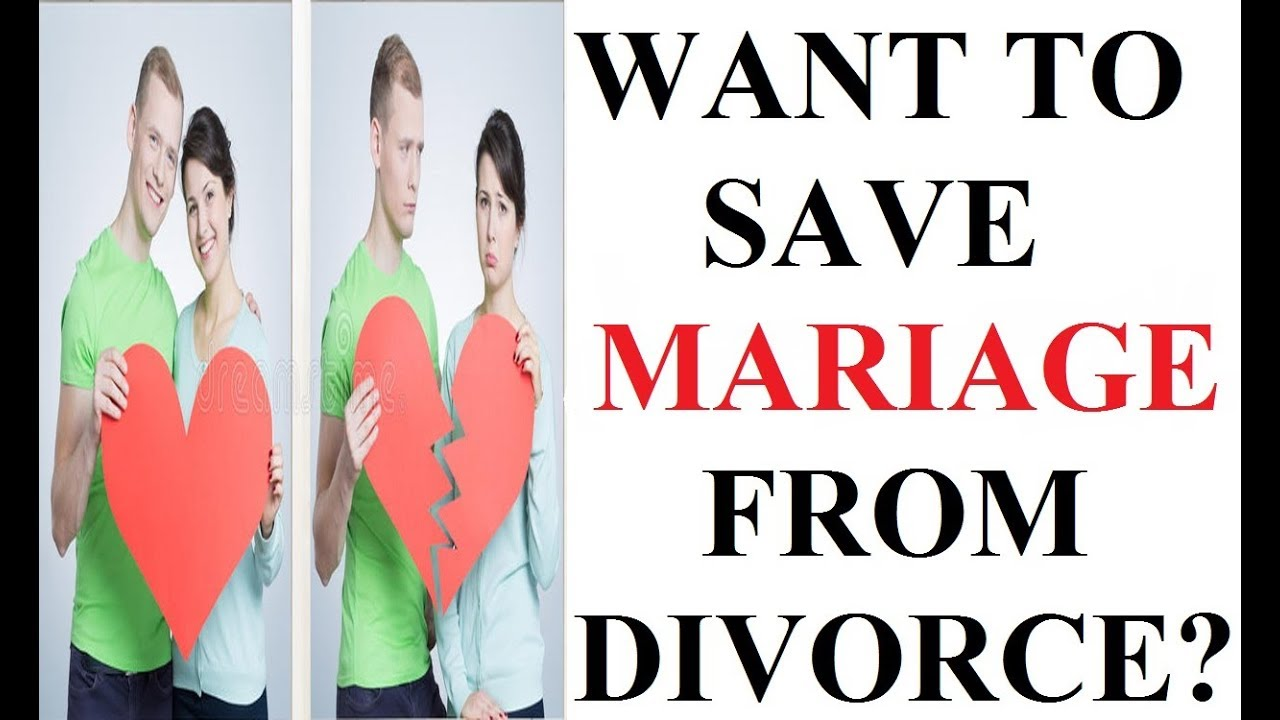 How to prevent a divorce