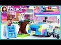 Lego Friends Olivia's Mission Vehicle Build Review Silly Play Kids Toys