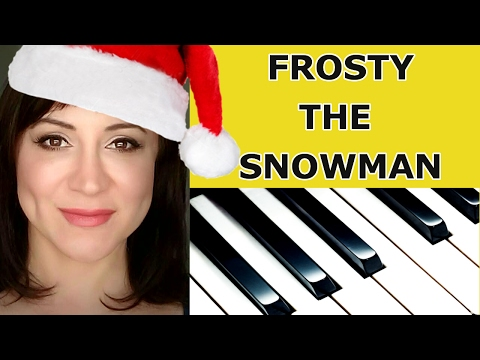 Frosty the Snowman Piano Tutorial/Sheet Music