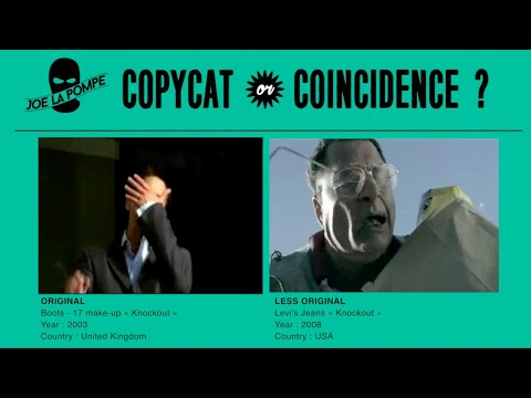 Twin Commercials : copycat or coincidence? [Episode 42] Boots Cosmetics vs Levi's