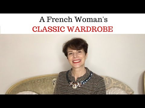 A French Woman 's CLASSIC Wardrobe
