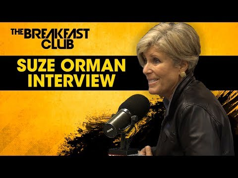 Financial Expert Suze Orman Talks Women And Money, Arguing With Master P + More