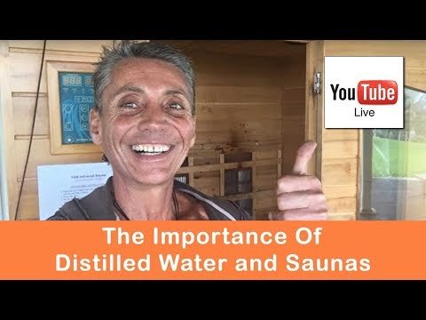 Rethinking Reality: The Importance Of Distilled Water And Saunas | Dr. Robert Cassar