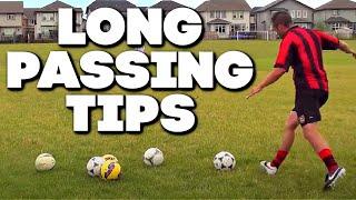 Football Long Passing Technique | Football Passing Tutorial