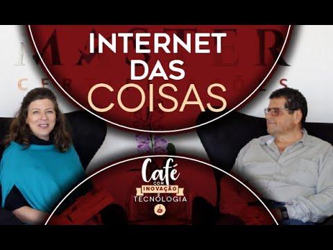 CAFÉ COM INOVAÇÃO E TECNOLOGIA - INTERNET DAS COISAS