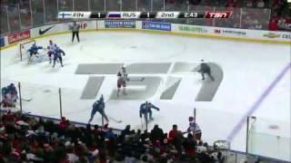 World Juniors: Finland vs. Russia 1/2/11