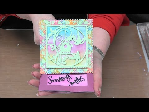 #241 Learn Interactive Reveal Easel Cards With Simply Refined Dies by Scrapbooking Made Simple