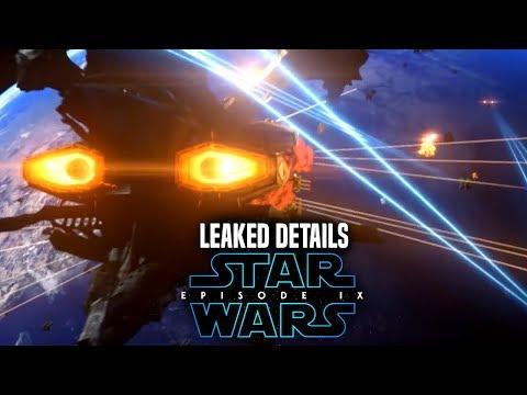 Star Wars Episode 9 Scene Leaked Details & Potential Spoilers
