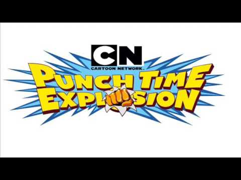 Cartoon Network Punchtime Explosion XL-Main Menu Extended