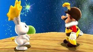 Super Mario Galaxy Walkthrough - Part 19 - Gold Leaf Galaxy