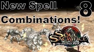 Soul Sacrifice DELTA DEMO Walkthrough - Part 8 - New Spell Combinations Demonstration / Tutorial