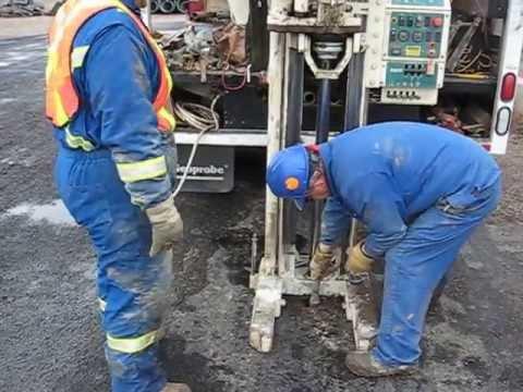 Geoprobe - Advantage Probe MC5 Soil Sampling Video in Saskatoon
