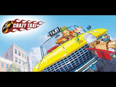 CRAZY TAXI Short Playthrough Game Movie No Commentary |