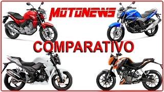 [COMPARATIVO] HONDA CB 250 TWISTER x YAMAHA FAZER 250 x DAFRA NEXT 250 x KTM DUKE 200 - MOTONEWS