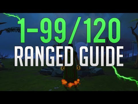 Runescape 3 - 1-99/120 Ranged Guide 2019