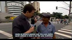Músico que vivia nas ruas usando drogas é resgatado pelo Balanço Geral