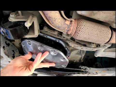 Замена масла в коробке передач МКПП Chevrolet Cruze 1,8 Шевроле Круз 2011 года