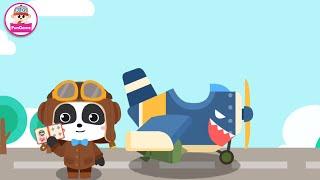 Cuộc Phiêu Lưu Bằng Máy Bay Của Gấu Trúc Kiki - Cùng Khám Phá Bầu Trời Nào