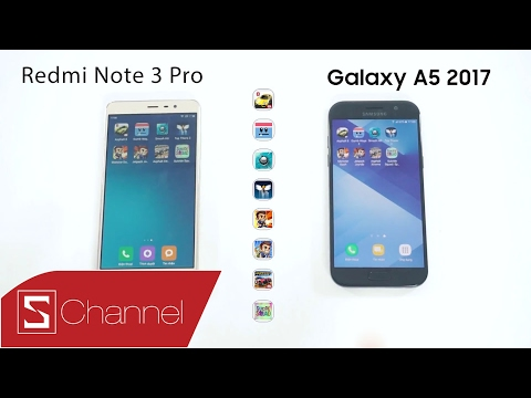 Schannel - Speedtest: Galaxy A5   A7 (2017) vs Redmi Note 3 Pro - Exynos 7880 vs Snapdragon 650