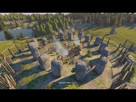Ancient Cities Gameplay and Kickstarter Update  - Strategy Survival City Builder Game for PC