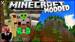 An *EPIC* NEW Base Area in Minecraft Modded Survival!