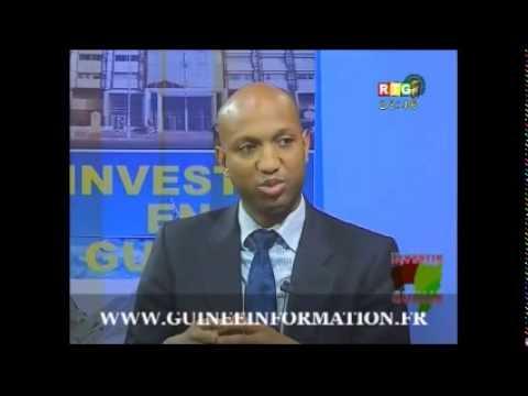 Investir en Guinée -Invités: Gabriel Curtis, APIP, Jean Michel Maheut, Bolloré Africa Logistics