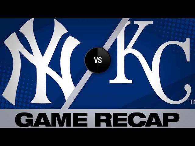 5/25/19: Chapman get his 250th save in Yankees' win