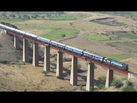 Amazing Shindawane Landscape : 7 Trains through the ghats