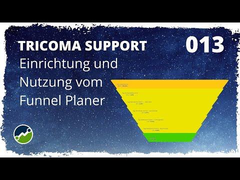 tricoma support #013: Wie funktioniert der Funnel Planer von tricoma?
