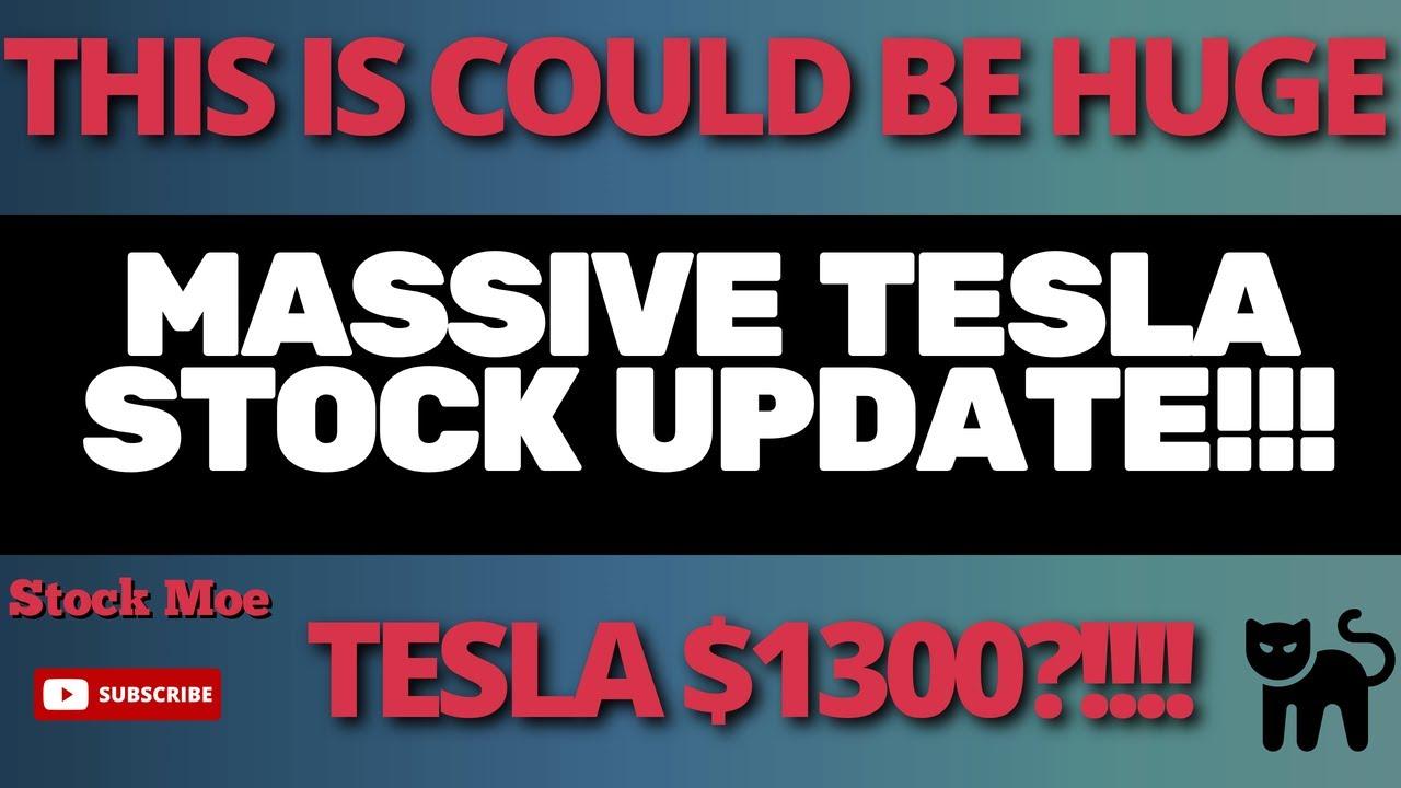 MASSIVE TESLA STOCK PREDICTION With MY TESLA STOCK PRICE PREDICTION And UPDATE TESLA STOCK RESEARCH