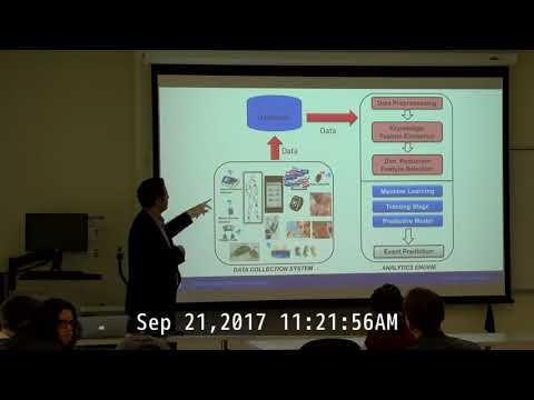 Computer Science Colloquium - September 21, 2017 - Dr. Mohammad Pourhomayoun