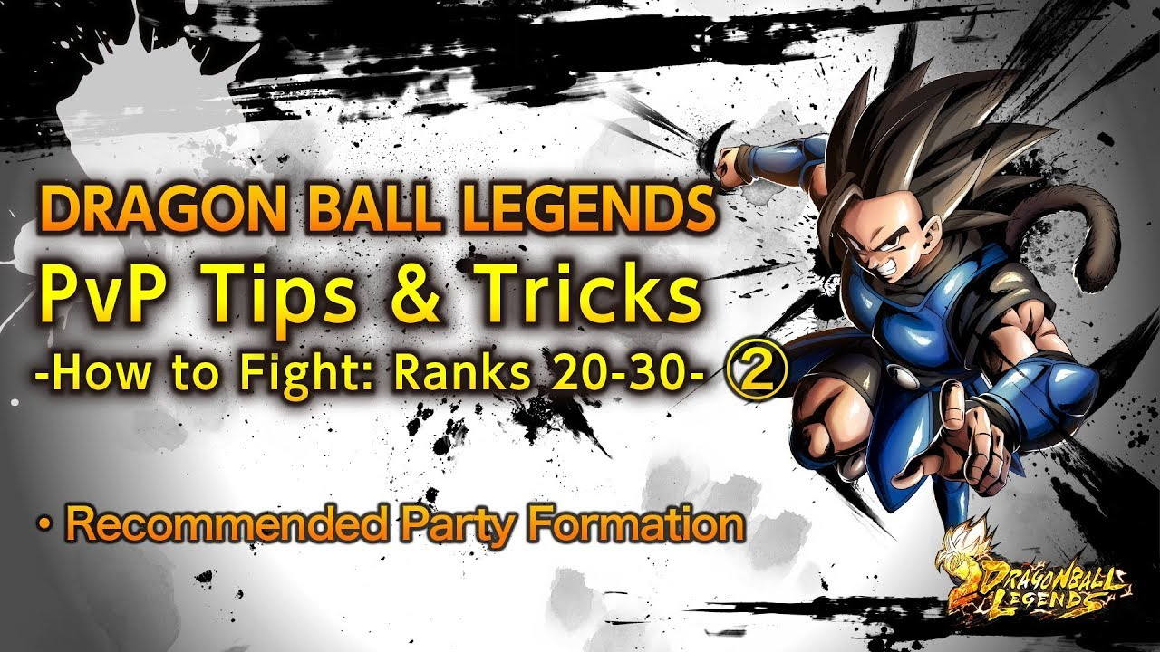 DRAGON BALL LEGENDS PvP Tips and Tricks Episode 3 How to Fight: Ranks 20-30  №2