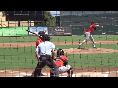Tyler Kolek 9 27 2018 Instructional League Jupiter Fl Youtube