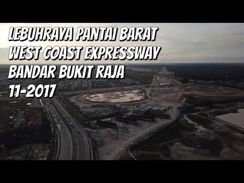 Bandar Bukit Raja, Klang | West Coast Expressway 5.11.2017 | Drone footage | 1080p Full HD