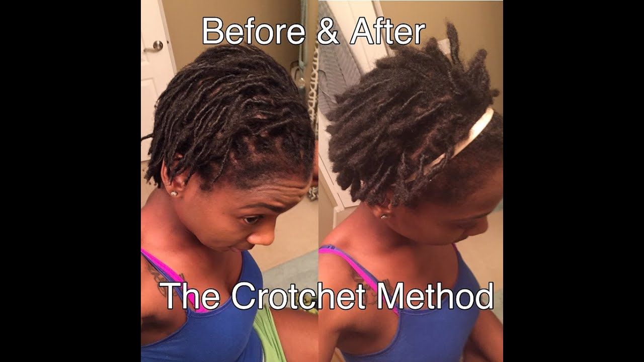 HOW TO: Instantly Transform Your Starter Locs into Instant Locs in Seconds!!! - YouTube