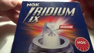 #Иридиевые свечи зажигания ngk., пробег до 100000 км! 1 часть.