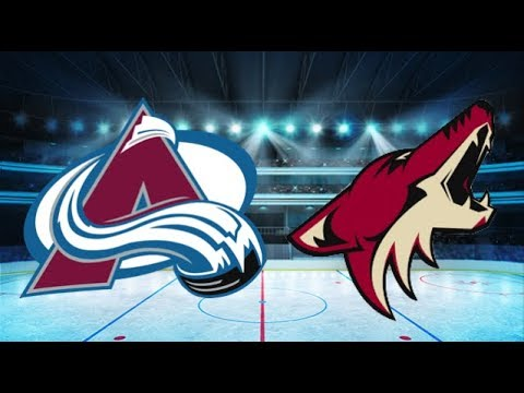 Colorado Avalanche vs Arizona Coyotes (1-3) All goals and Highlights!! [Extended] - YouTube
