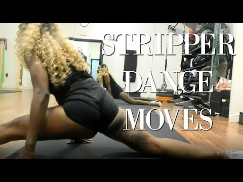 Beginner Stripper Moves #2 (Isolating Booty Flexing, Etc.)// STRIPPER DIARIES