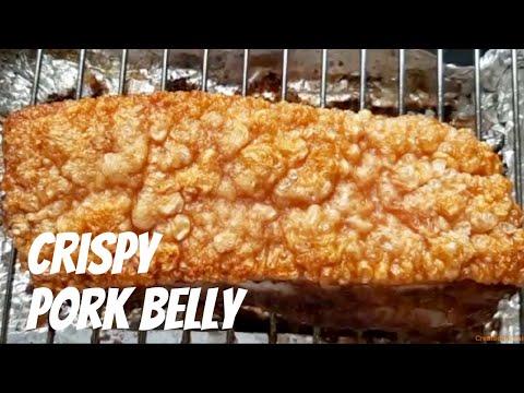 How To Make Chinese Crispy Pork Belly Siu Yuk หม กรอบ Captain Coriander