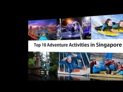 Top 10 Adventure Activities in Singapore