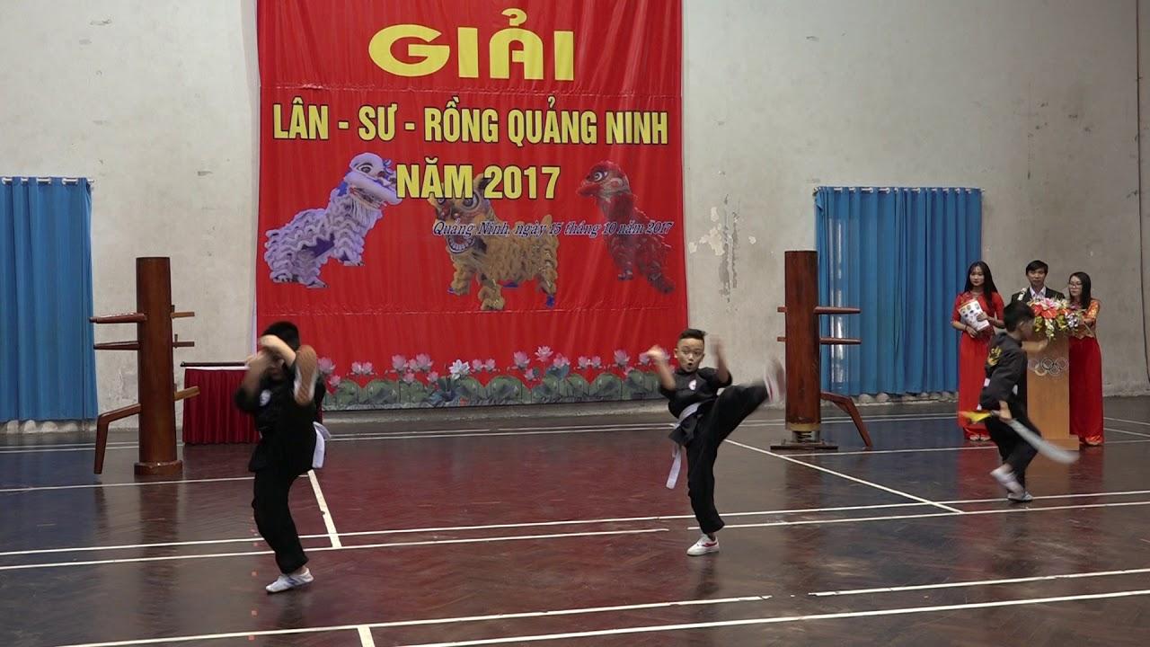 Võ Thuật Khai Mạc Gải LSR Quảng Ninh Mở Rộng - Lion dance - mua lan su rong - YouTube