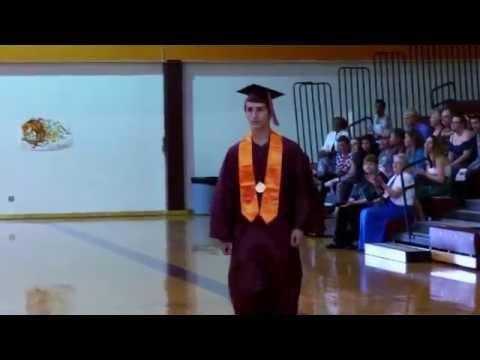 Part 2 Herington High School class of 2015 getting diplomas