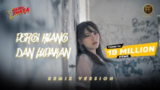 Download lagu HAPPY ASMARA - PERGI HILANG DAN LUPAKAN [ Dj Angklung Full Bass ] ( Official Music Video )