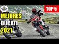 Top 5: Mejores Motos Ducati 2021