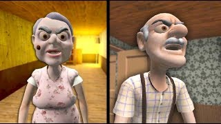 GRANNY AND GRANDPA HOUSE - Full Gameplay | Horror Game