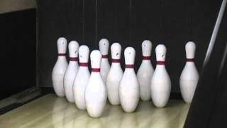 bowling trick shots with mitch